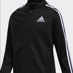 Adidas Tricot Bomber Jacket Unisex Black XL